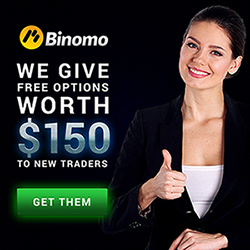 Binomo Broker – 10$ Small Minimum Deposit! Trade Without Risk With Free Trades!