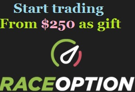 RaceOption Broker – Binary Options US Trading Welcome! First 3 Trades Risk Free!